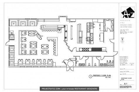Restaurant Floor Plan Template Fast Casual Restaurant Kitchens