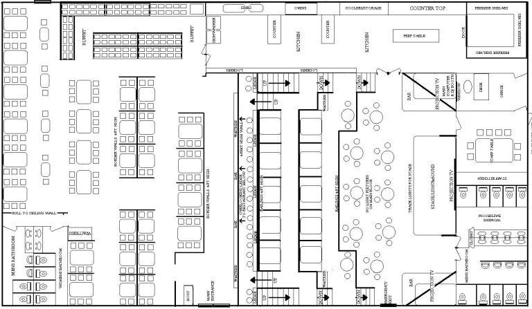 Restaurant Floor Plan Template Free Floor Plan Maker Lovely Free Restaurant Floor