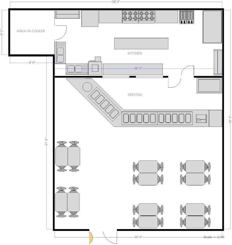 Restaurant Floor Plan Template Pin by Loyal Ramusal On Kitchen Design