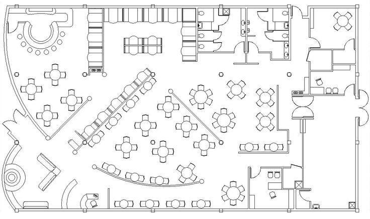 Restaurant Floor Plan Template Restaurant Dining Room Blueprint