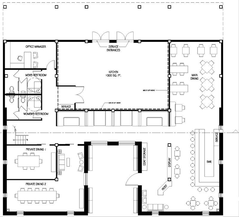 Restaurant Floor Plan Template Restaurant Floor Plan Layout Perfect for A Steakhouse Idea