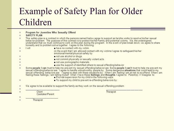 Safety Plan Template for Youth Family Safety Plan Template Lovely Download Адиционная
