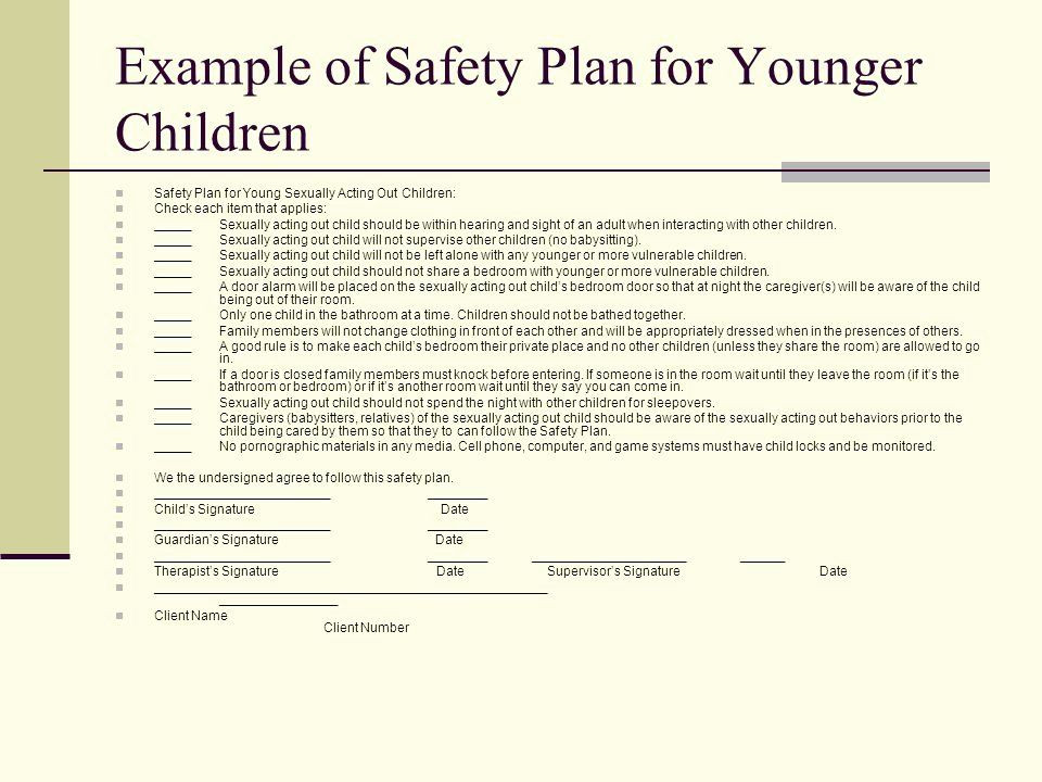 Safety Plan Template for Youth Safety Plan Template for Students Beautiful Youth with Ual