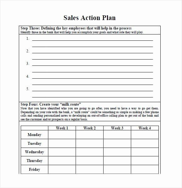 Sales Action Plan Template Excel Sales Action Plan Template Excel Awesome 7 Free Sales Plan