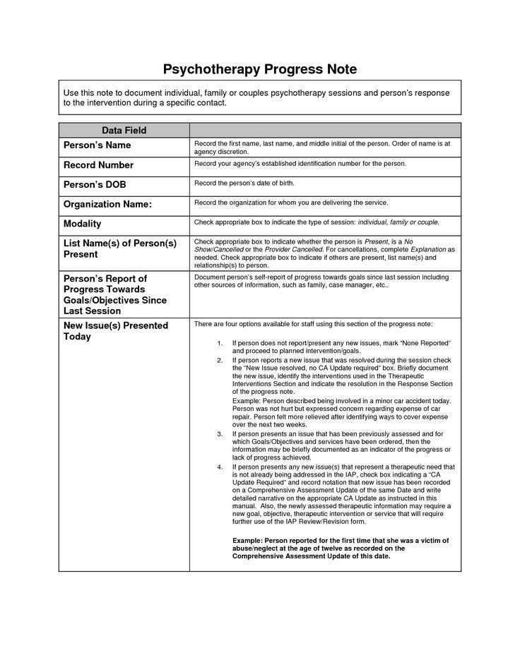 Sample Treatment Plan Template Pin On My therapist tools