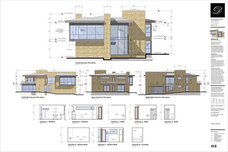 Sketchup Floor Plan Template Rendered Sections