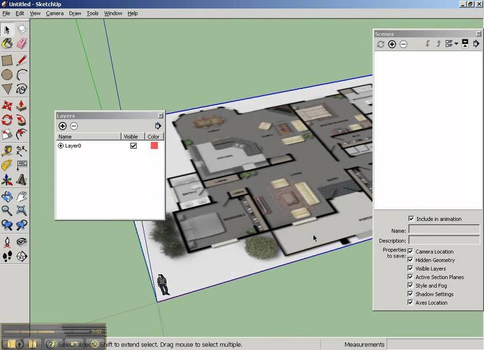 Sketchup Floor Plan Template Sketchup Floor Plan Template Unique Sketchup Floorplan Part1