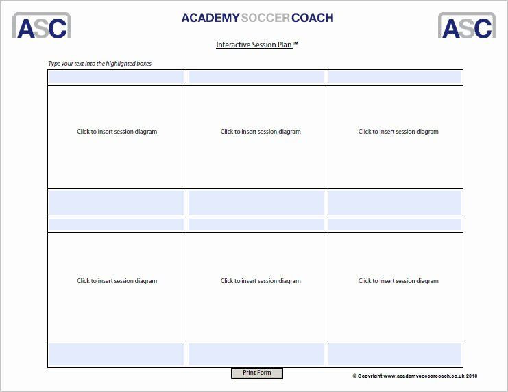 Soccer Session Plan Template soccer Practice Plan Template Inspirational Interactive