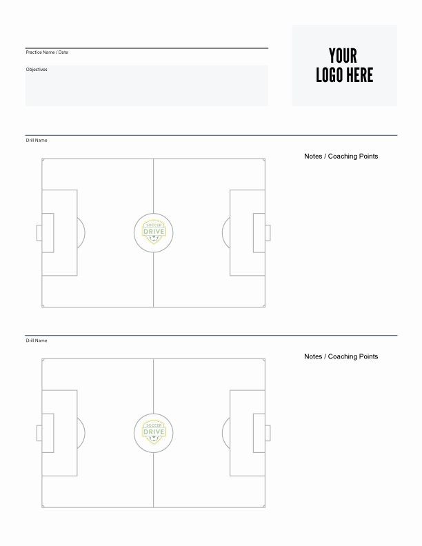 Soccer Session Plan Template soccer Practice Plan Template Luxury soccer Coaching tools