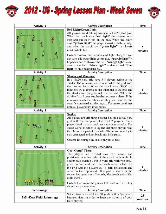Soccer Session Plan Template Us soccer Practice Plan Template Unique Us soccer Exercises