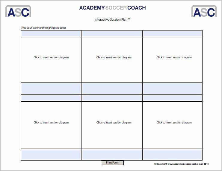 Soccer Training Session Plan Template Football Session Plan Template Elegant Interactive Session