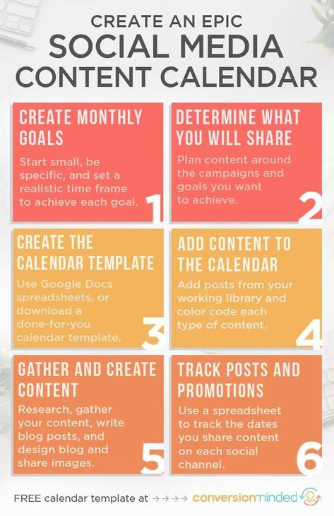 Social Media Content Planner Template An Epic social Media Content Calendar Template for 2020