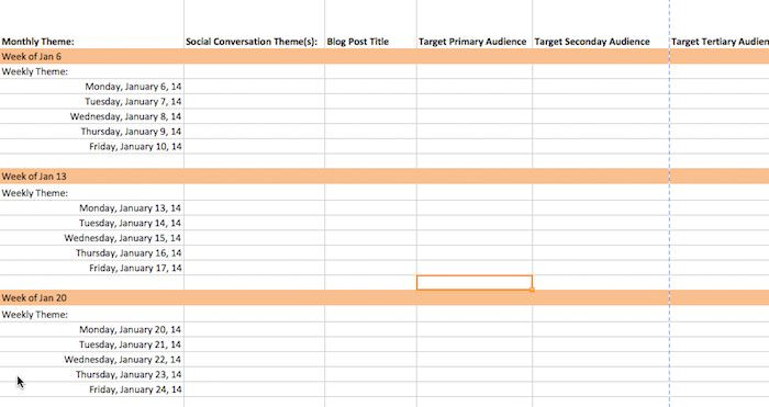 Social Media Content Planner Template How to Create A 90 Day Content Calendar with Free Templates