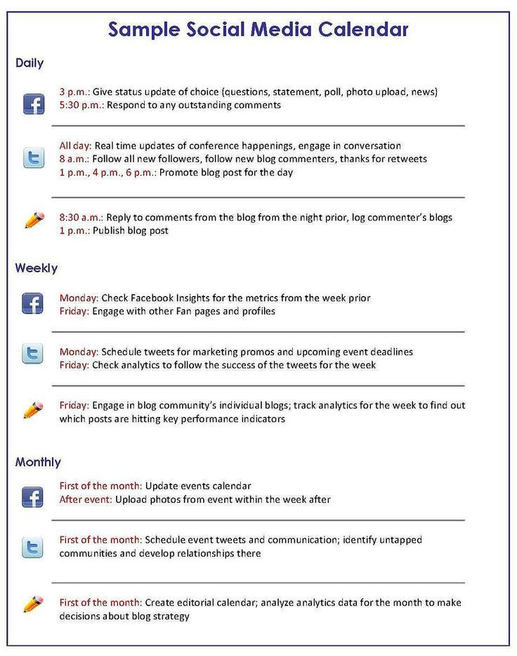 Social Media Strategy Plan Template social Media Marketing How to Get A Handle On Your social