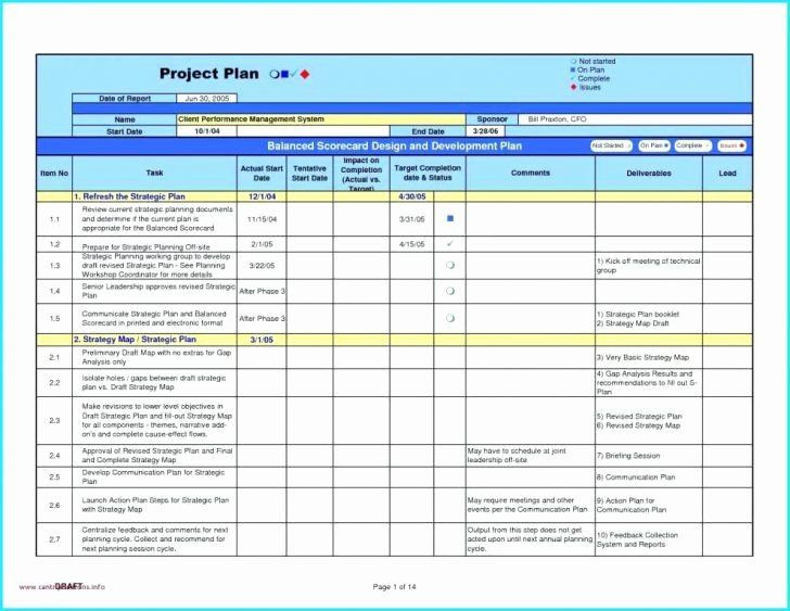 Software Implementation Plan Template Excel software Implementation Plan Template Excel Beautiful