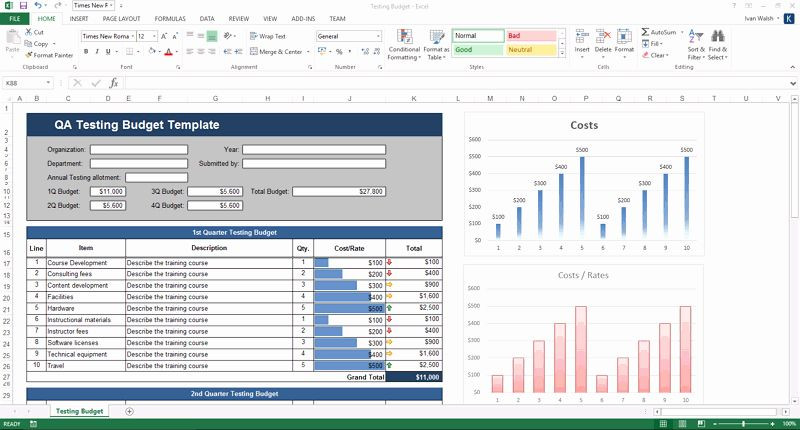 Software Test Plan Template Excel Pin On Line Project Planning Templates