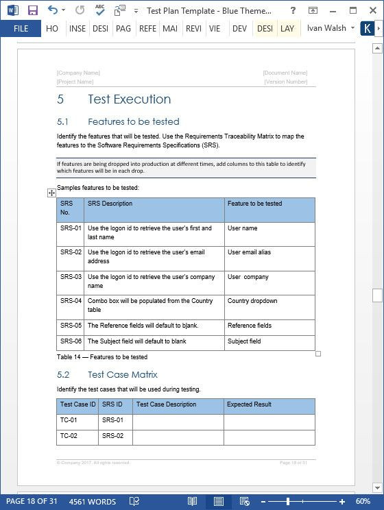 Software Test Plan Template Excel software Test Plan Template Excel Unique Test Plan Templates