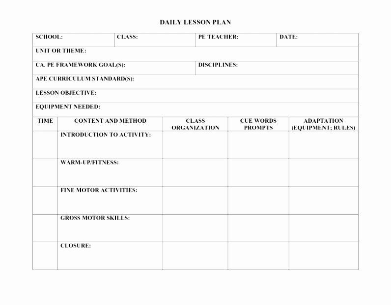 Special Ed Lesson Plan Template Special Ed Lesson Plan Templates Best 9 Special Education