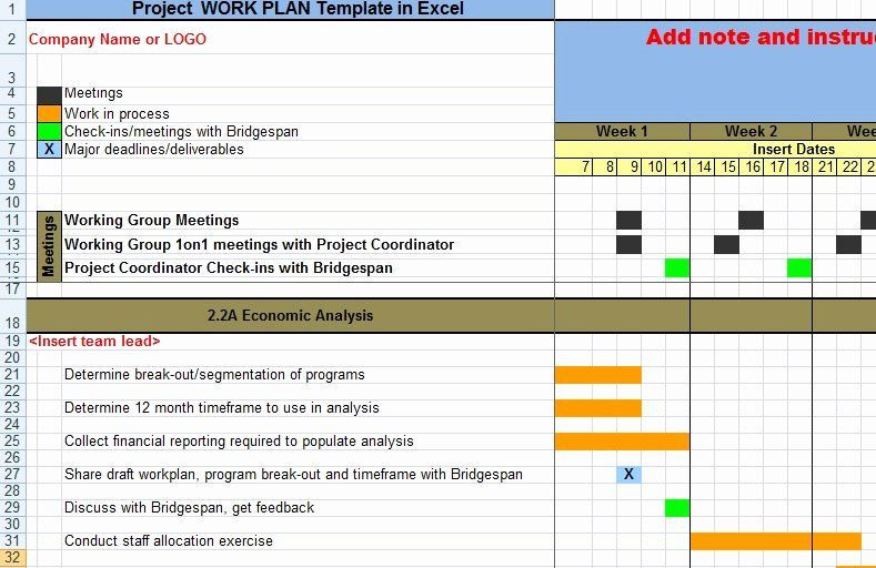 Staff Capacity Planning Template Excel Project Work Plan Template Excel Lovely Project Work Plan