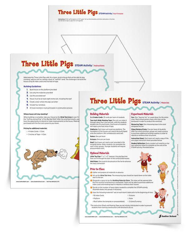 Stem Lesson Plan Template Stem Lesson Plan Template Inspirational 3 Little Pigs Stem