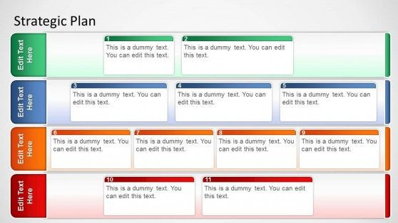 Strat Plan Powerpoint Template Best Powerpoint Templates