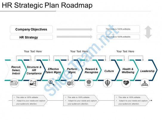 Strat Plan Powerpoint Template Pin Di Diagram Design