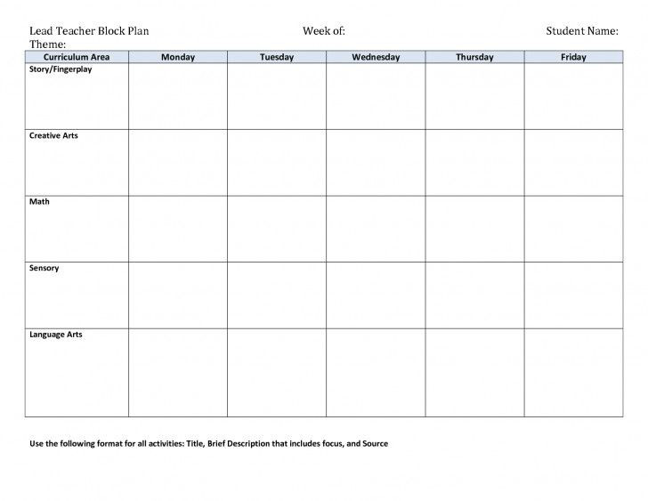 Study Plan Template 90 Minute Lesson Plan Template Inspirational Literacy Block