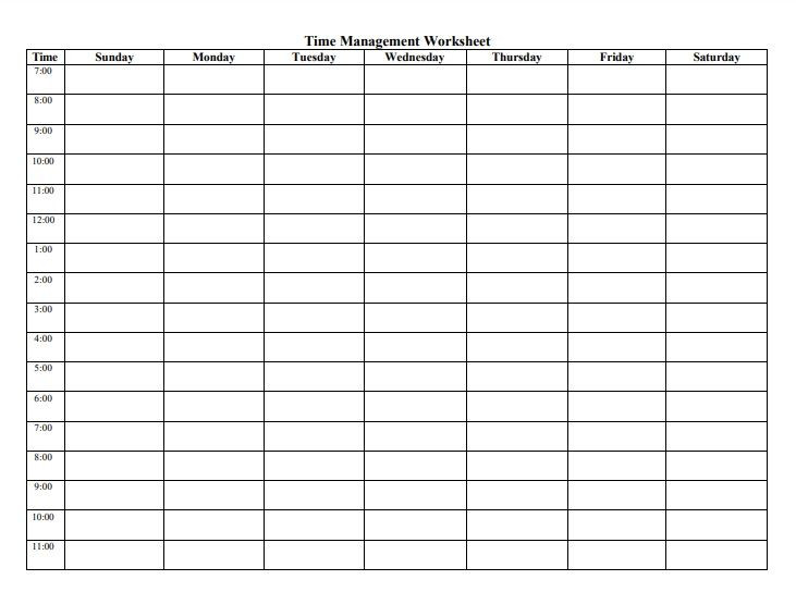 Study Plan Template for Students Study Plan Templates