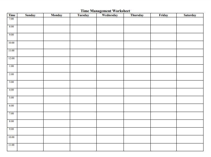 Study Plan Template Study Plan Templates