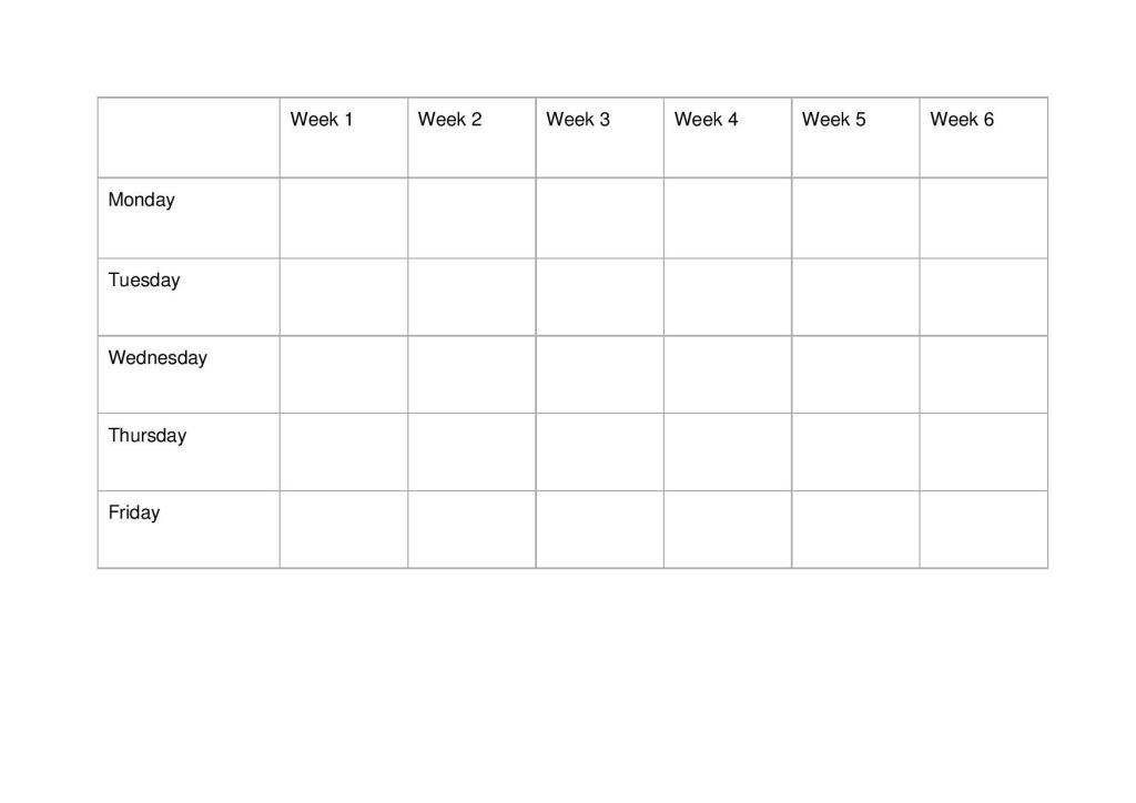Study Plan Template Study Timetable Template Pdf Page 001