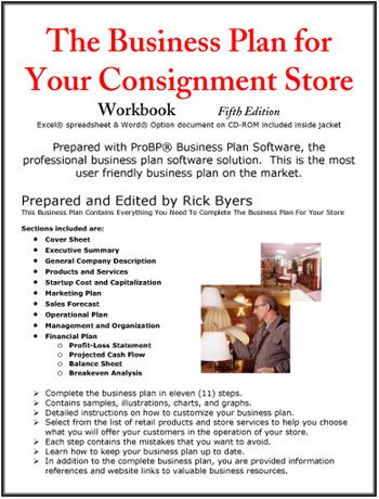 Thrift Store Business Plan Template Create the Documents and Spreadsheets You Need to Manage
