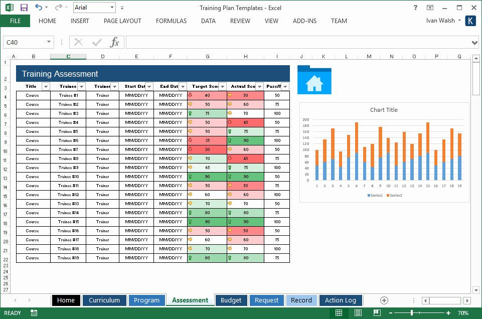 Training Plan Template Excel Excel Training Schedule Template Luxury Training Plan