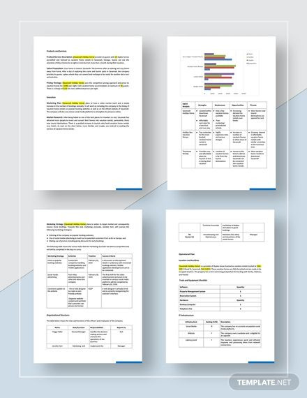 Vacation Rental Business Plan Template Vacation Rental Business Plan Template Ad Ad Rental