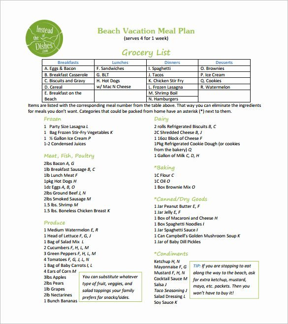 Vacation Rental Business Plan Template Vacation Rental Business Plan Template Fresh 14 Meal