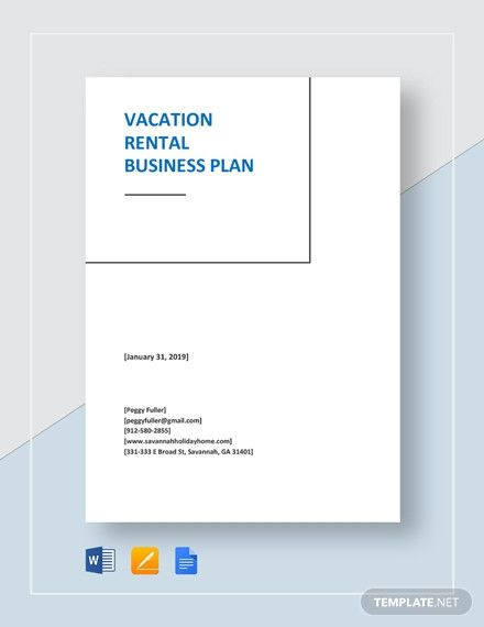 Vacation Rental Business Plan Template Vacation Rental Business Plan Template Luxury Download 92