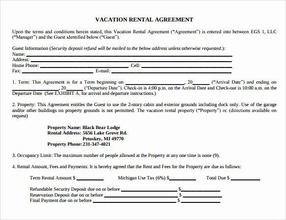 Vacation Rental Business Plan Template Vacation Rental Business Plan Template New 8 Vacation Rental