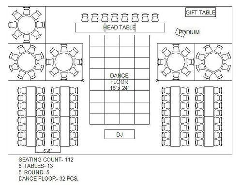 Wedding Floor Plan Template Casa De Christine More Tent Layout Options