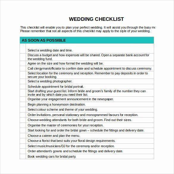 Wedding Plan Checklist Template Wedding Plan Checklist Template Luxury Sample Wedding