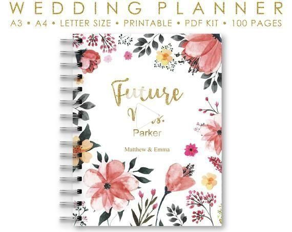 Wedding Planner Cover Page Template Pin On Wedding Planner Binder