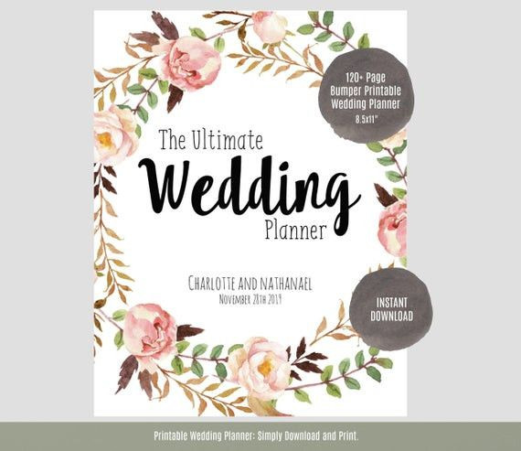 Wedding Planner Cover Page Template Wedding Planner Cover Page Template Awesome Wedding Planner