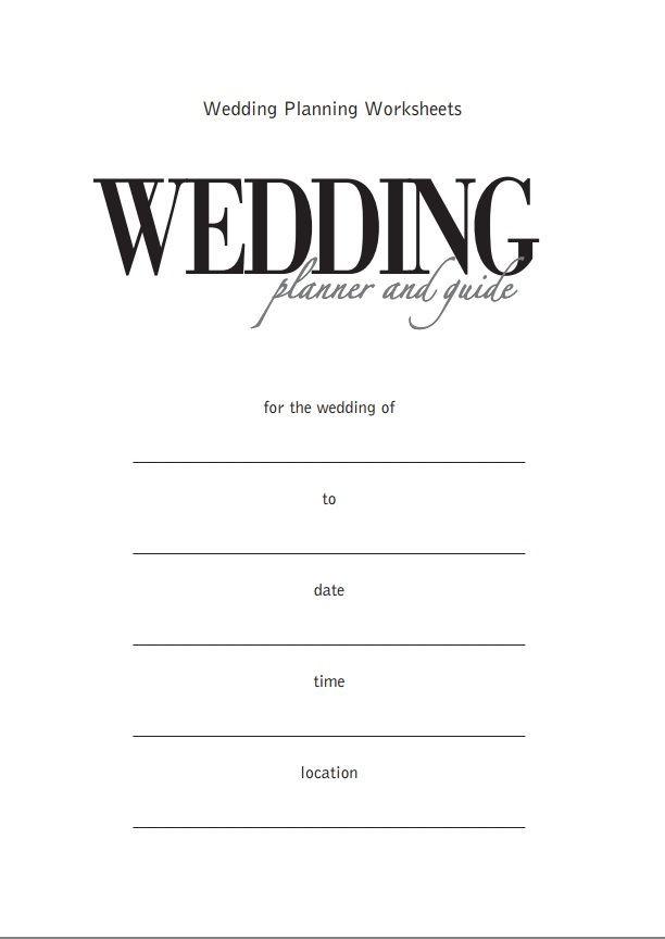 Wedding Planner Template Please Wait