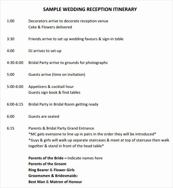 Wedding Planner Timeline Template Wedding Planning Timeline Template Elegant 6 Sample Wedding