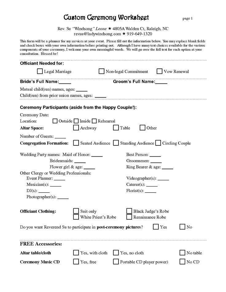 Wedding Planners Contract Template Wedding Decor Rental Contract Classy Free Wedding Planner
