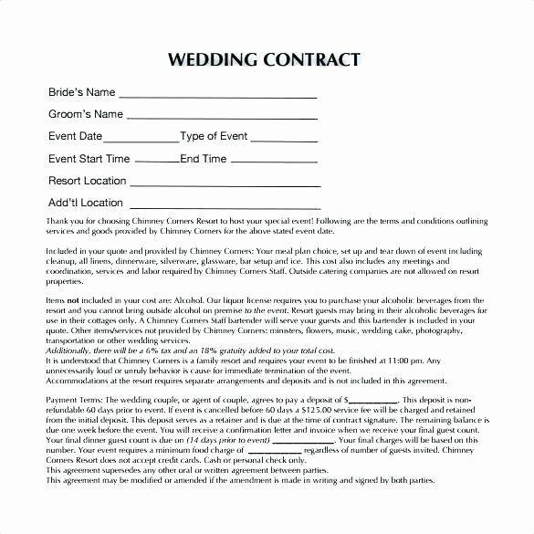 Wedding Planners Contract Template Wedding Planner Contract Template Free New event Planner