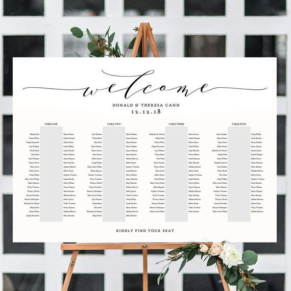 Wedding Seating Plan Template Banquet Seating Chart 4 Long Tables Banquet Table Plan