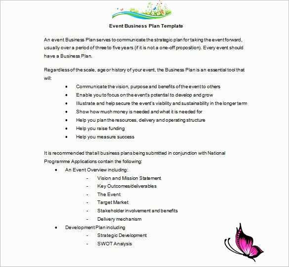 Wedding Venue Business Plan Template Wedding Venue Business Plan Template Fresh event Planning
