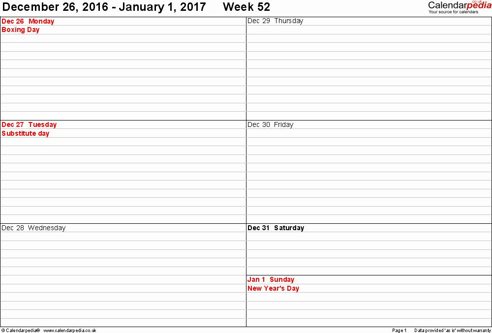 Weekly Planner Template 2017 2 Week Calendar Template Word Lovely Weekly Calendar 2017 Uk