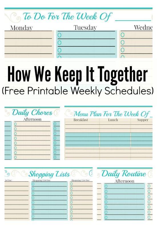 Weekly Planner Template Printable Free Free Weekly Planner Template to Do Checklist More Free
