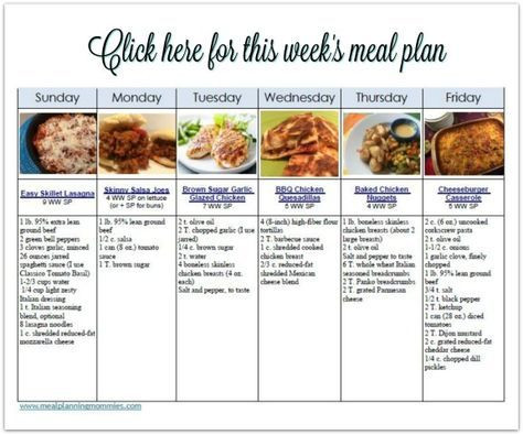 Weight Watchers Meal Planner Template Pin On Weight Watcher Recipes