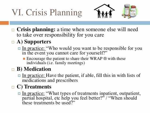 Wellness Plan Template Mental Health Wellness Recovery Action Plan Template Best Wellness